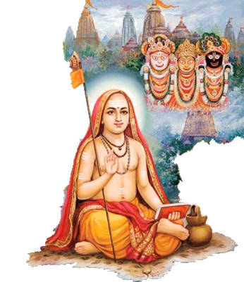 Image result for shankaracharya and krishna