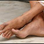 Sri Swamiji's holy feet