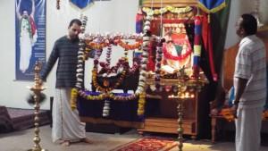 Sri Guruji kirtan samarpanam to Sri Padukas