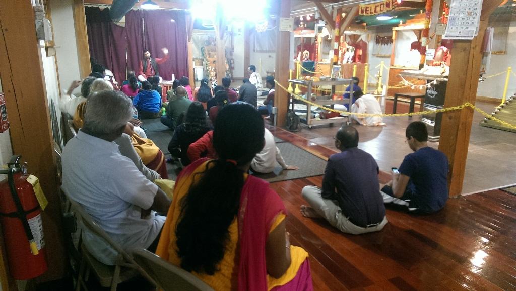 Discourse at Nashua Temple,New Hampshire