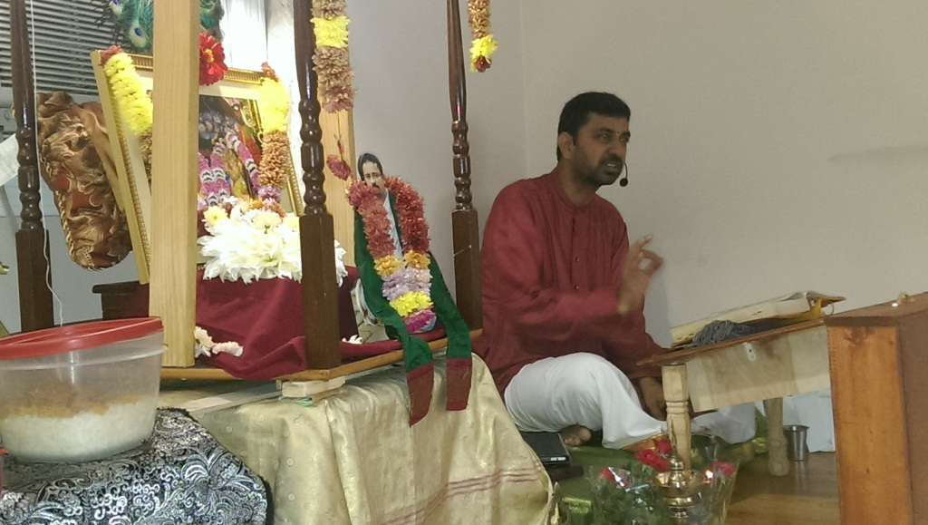 Satsang at Padhuka Dham in Concord,MA