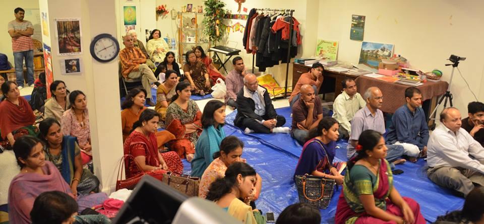 Discourse on 'Essence of Bhagavatha Dharma' in Maryland
