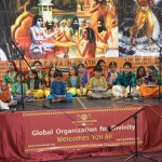 Our lovely kids singing bhajans and Madhuragitam