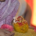 Thirumangalyam for celestial wedding