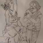 Vibhishana & Sri Rama