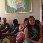 Special Navaratri satsang at Bhutanese Mandir in Dallas,TX