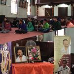 First satsang in Maine by Sri Poornimaji