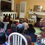 Sri Poornimaji's Satsang in Irvine, CA