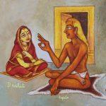 Kardama and Devahuti