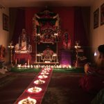 Vishnu Deepam and Sharad Poornima celebrations at Virginia Namadwaar, VA