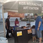 G.O.D. Hosts Kids Interactive Station at Pearland Arts Show
