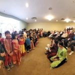 Gopakuteeram kids performance at a  Senior center in Richmond, Virginia