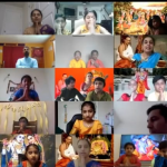 Raleigh Gopa Kuteeram Annual Day in the presence of Sri Ramanujam ji via. online
