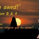 Little Questions and Lucid Answers – 1