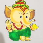 Lord Ganesha's wisdom