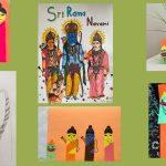 Sri Rama Navami Art work – by Virginia Gopakuteeram kids